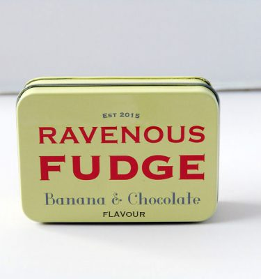Banana & Chocolate Fudge - Ravenous Fudge