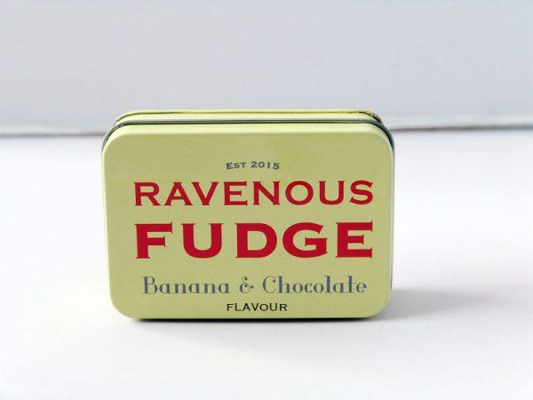 Banana & Chocolate Fudge - Ravenous Fudge