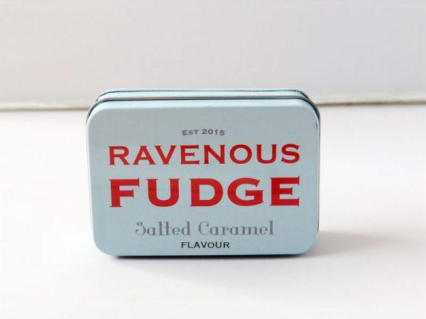 Salted Caramel Fudge - Ravenous Fudge