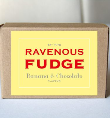 Fudge Banana and Chocolate Box