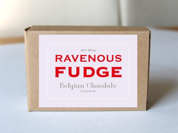 Fudge Belgian Chocolate Box