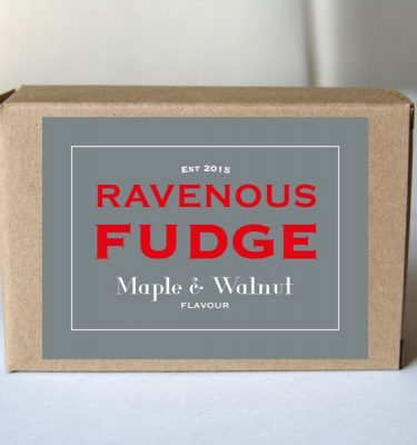Fudge Maple and Walnut Box