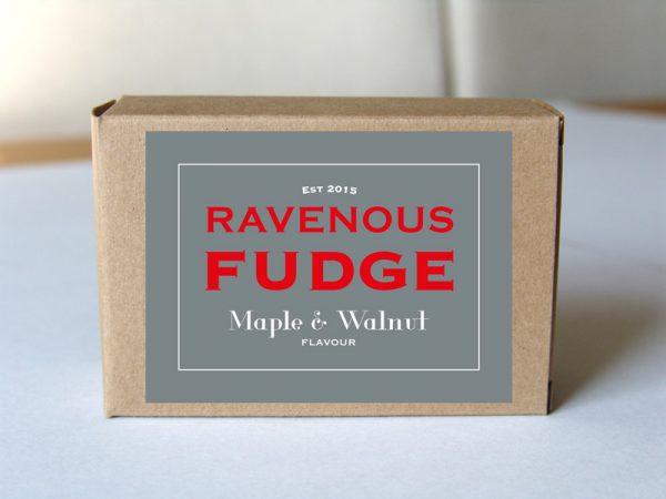 Fudge Maple and Walnut Box