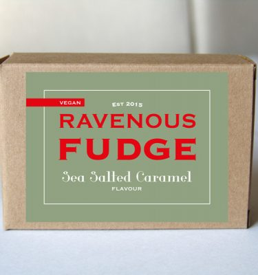 Fudge Vegan Sea Salted Caramel Box