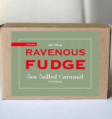 Fudge Vegan Sea Salted Caramel Box